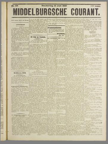 Middelburgsche Courant 1927-07-21