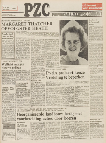 Provinciale Zeeuwse Courant 1975-02-12