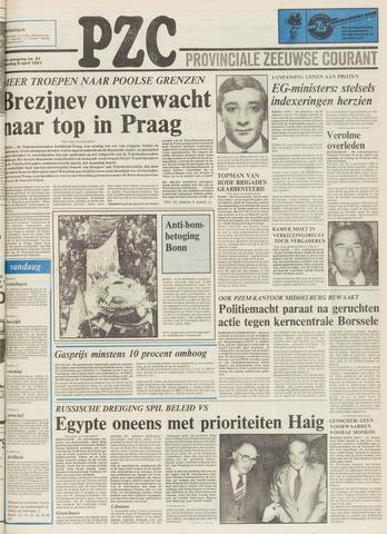 Provinciale Zeeuwse Courant 1981-04-06