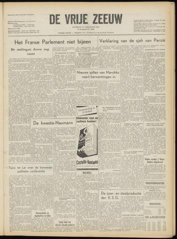 de Vrije Zeeuw 1953-08-25