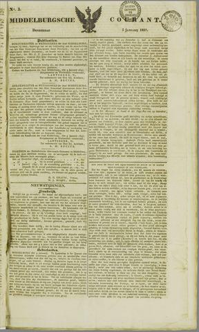 Middelburgsche Courant 1837-01-05