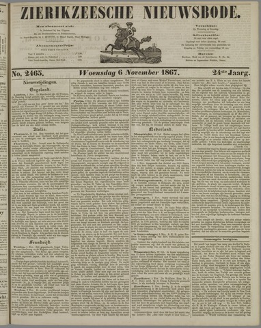 Zierikzeesche Nieuwsbode 1867-11-06