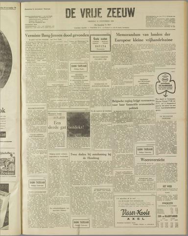 de Vrije Zeeuw 1959-11-27