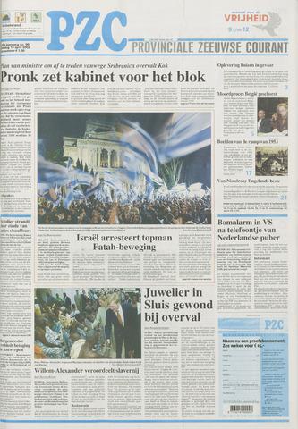 Provinciale Zeeuwse Courant 2002-04-16