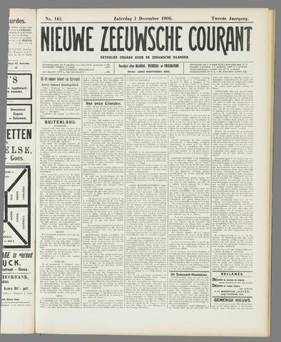 Nieuwe Zeeuwsche Courant 1906-12-01