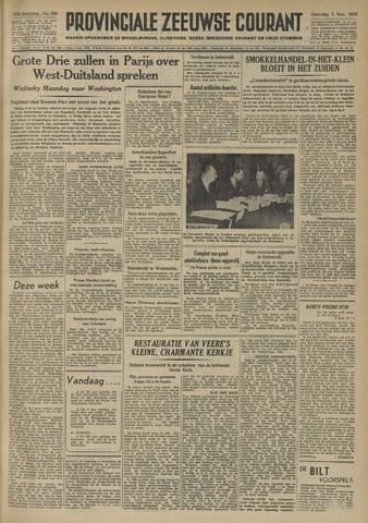 Provinciale Zeeuwse Courant 1949-11-05