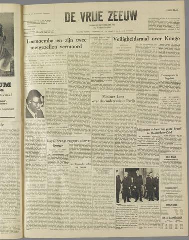de Vrije Zeeuw 1961-02-14