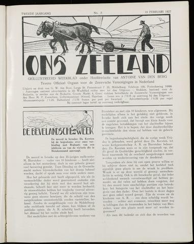 Ons Zeeland / Zeeuwsche editie 1927-02-19