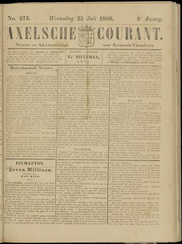 Axelsche Courant 1888-07-25