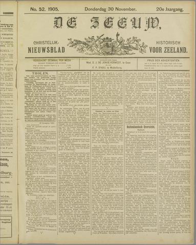 De Zeeuw. Christelijk-historisch nieuwsblad voor Zeeland 1905-11-30