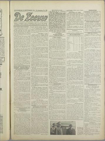 De Zeeuw. Christelijk-historisch nieuwsblad voor Zeeland 1943-09-23