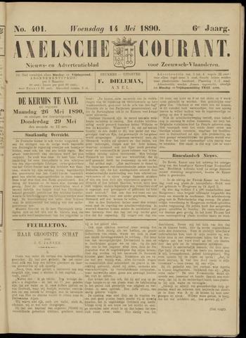 Axelsche Courant 1890-05-14