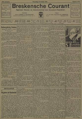 Breskensche Courant 1930-10-22