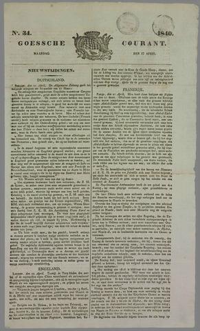 Goessche Courant 1840-04-27