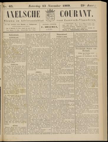 Axelsche Courant 1909-11-13