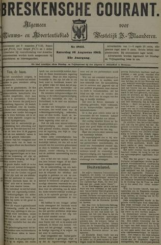 Breskensche Courant 1913-08-16