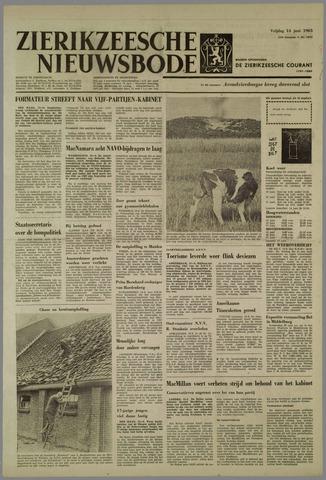 Zierikzeesche Nieuwsbode 1963-06-14