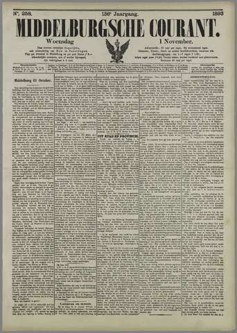 Middelburgsche Courant 1893-11-01