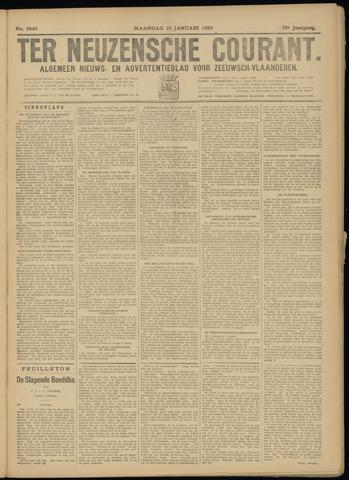Ter Neuzensche Courant. Algemeen Nieuws- en Advertentieblad voor Zeeuwsch-Vlaanderen / Neuzensche Courant ... (idem) / (Algemeen) nieuws en advertentieblad voor Zeeuwsch-Vlaanderen 1933-01-16