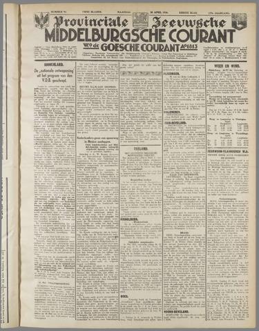 Middelburgsche Courant 1936-04-20