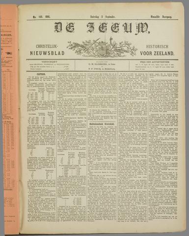 De Zeeuw. Christelijk-historisch nieuwsblad voor Zeeland 1898-09-03