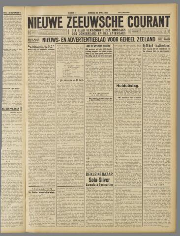 Nieuwe Zeeuwsche Courant 1933-04-25