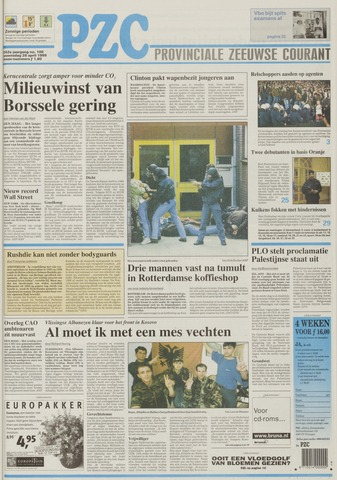 Provinciale Zeeuwse Courant 1999-04-28