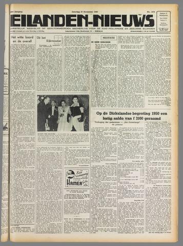 Eilanden-nieuws. Christelijk streekblad op gereformeerde grondslag 1949-11-26