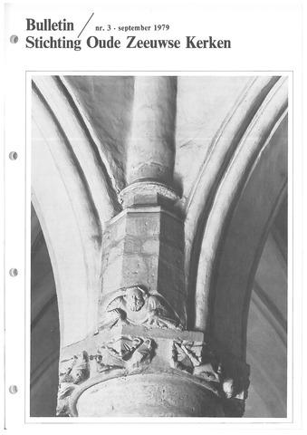 Bulletin Stichting Oude Zeeuwse kerken 1979-09-01