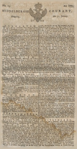Middelburgsche Courant 1775-01-31