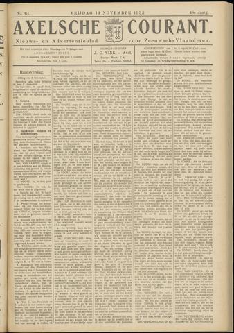 Axelsche Courant 1932-11-11