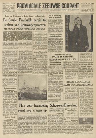 Provinciale Zeeuwse Courant 1960-04-08