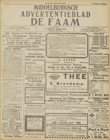 de Faam en de Faam/de Vlissinger 1915-12-08