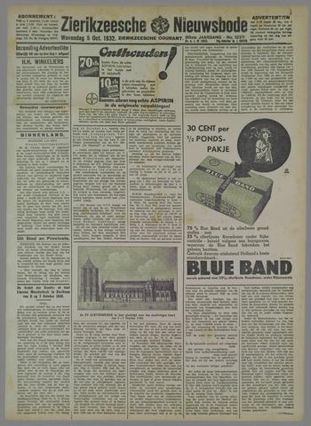 Zierikzeesche Nieuwsbode 1932-10-05
