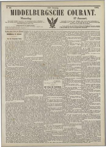 Middelburgsche Courant 1902-01-27