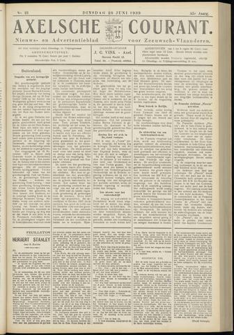 Axelsche Courant 1939-06-20