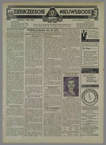 Zierikzeesche Nieuwsbode 1940-05-03