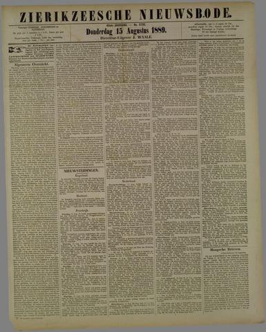 Zierikzeesche Nieuwsbode 1889-08-15
