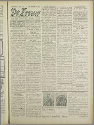 De Zeeuw. Christelijk-historisch nieuwsblad voor Zeeland 1944-07-03