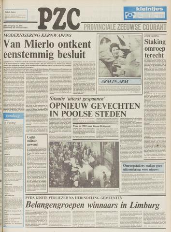 Provinciale Zeeuwse Courant 1981-10-22