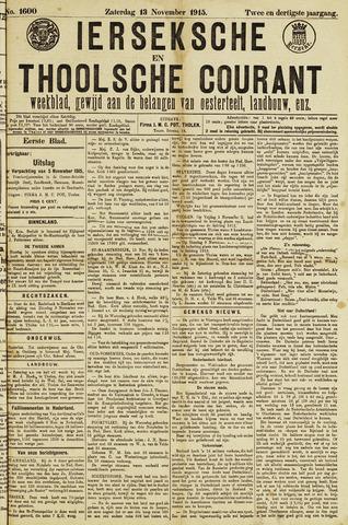 Ierseksche en Thoolsche Courant 1915-11-13