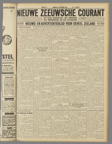Nieuwe Zeeuwsche Courant 1931-09-08