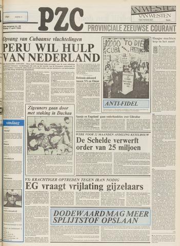 Provinciale Zeeuwse Courant 1980-04-11