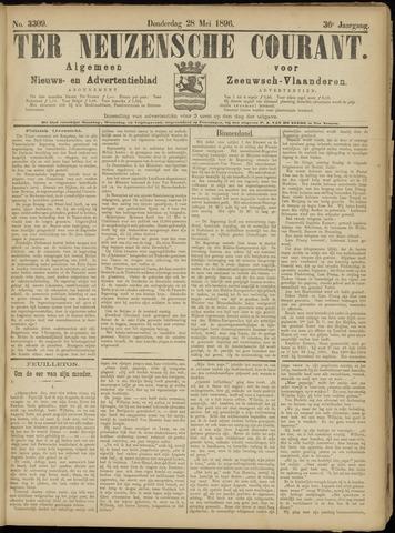 Ter Neuzensche Courant. Algemeen Nieuws- en Advertentieblad voor Zeeuwsch-Vlaanderen / Neuzensche Courant ... (idem) / (Algemeen) nieuws en advertentieblad voor Zeeuwsch-Vlaanderen 1896-05-28