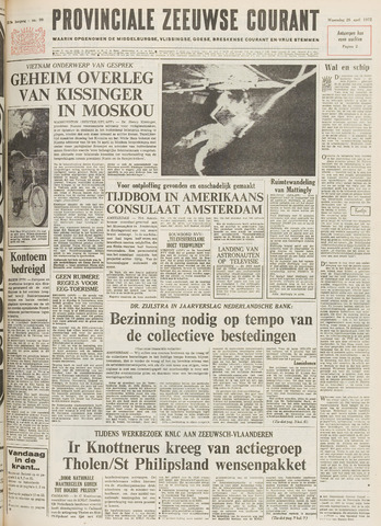 Provinciale Zeeuwse Courant 1972-04-26