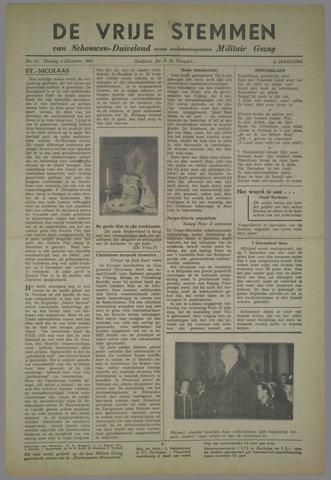 Vrije Stemmen van Schouwen-Duiveland, tevens mededeelingenblad Militair Gezag 1945-12-04