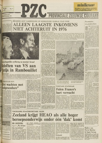 Provinciale Zeeuwse Courant 1975-11-18