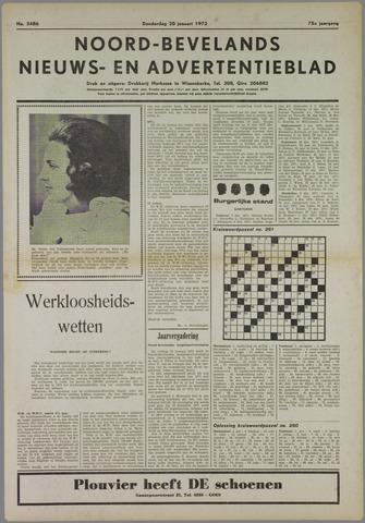 Noord-Bevelands Nieuws- en advertentieblad 1972-01-20