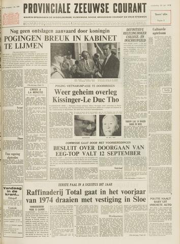Provinciale Zeeuwse Courant 1972-07-20
