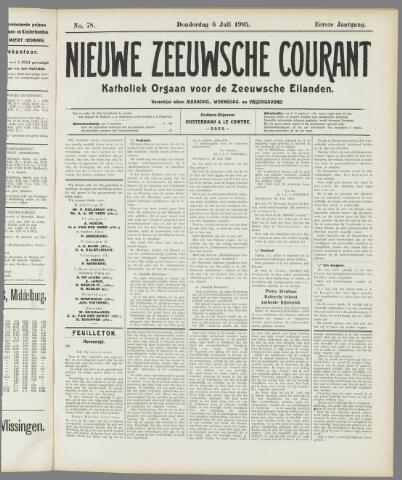 Nieuwe Zeeuwsche Courant 1905-07-06